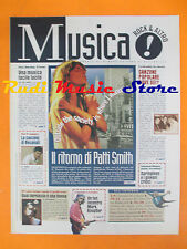 rivista MUSICA! REPUBBLICA 54/1996 Patti Smith Mark Knopfler Irving Berlin No*cd