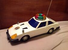 "Vintage 1970/80's Chei Ai 14"" Battery Operated Plastic Datsun 280Z Light Up Car"