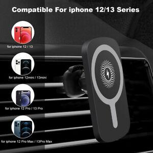 15W Kabellos Induktionsladegerät Magnetisch KFZ Halterung für Apple iPhone 12 13