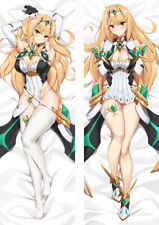 Xenoblade Chronicles 2 Mythra Dakimakura Pillow Case Hugging Body Cosplay
