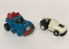 Vintage Transformers 1984 Lot Of 2 Minibots Gears Mini spy Takara G1 Broke Parts