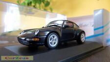 1:43 Minichamps, 1995 Porsche 911 Targa, Black Metallic