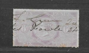 INDIA QUEEN VICTORIA SIX PENCE STAMP (USED) FROM??
