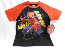 Marvel Boys Spiderman T-Shirt and Shorts Set Size 4