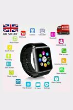2018 Gt08 Bluetooth Smart Watch for Android IOS iPhone Apple GSM GPRS SIM UK