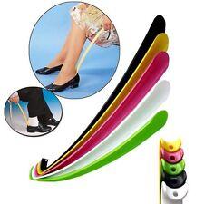 57cm Long Plastic Shoe Horn Long Handle Shoehorn Flexible Sturdy Slip Shoes Aid