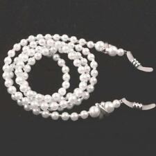Pearl Beaded Eyeglass Sunglasses Spectacle Chain Cord Neck Strap String Chain
