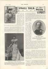 1906 The New King And Queen Of Denmark Frederick And Louisa Mrs Harry Mcalmont