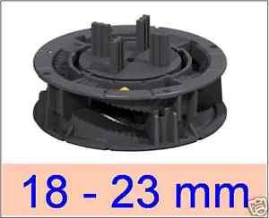 32 Stelzlager, 18-23mm, verstellbar, Plattenlager, Terrassenlager ,,