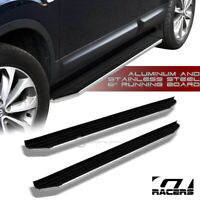 "For 2016-2019 Honda Pilot 6"" Aluminum Blk/Chrome Trim Side Step Running Board Vp"
