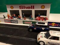 1:32 Scale NEW SHELL 3x Car Pit Garage Slotcar Building - Scalextric Carrera SCX