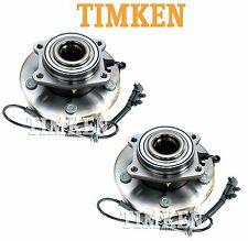 For Chrysler VW Pair Set of Front Wheel Bearings & Hubs Assembly Timken HA590243