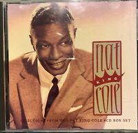 NAT KING COLE  SELECTIONS FROM THE NAT KING COLE 4CD BOX SET  EXCELLENT