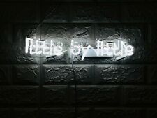 """New Little By Little Neon Light Sign 14"""" Lamp Beer Pub Acrylic Real Glass Gift"""