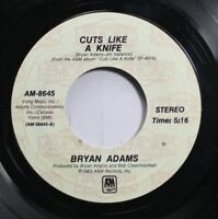 Rock 45 Bryan Adams - Cuts Like A Knife / Straight From The Heart On A&M