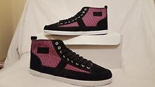 OSIRIS SHOES CURRENCY BLK PNK WOMENS GIRLS SIZE UK 4.5 NEW UNBOXED US 7 EUR 37.5
