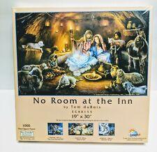 No Room At The Inn 1000 Piece Jigsaw Puzzle Tom Dubois Manger Scene Religious