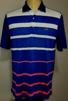 Vineyard Vines Mens Short Sleeve Polo Shirt Small Multicolored Striped