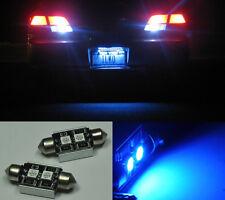 2x No Error LED License plate Light BMW 325Ci 330Ci M3 E46 Blue