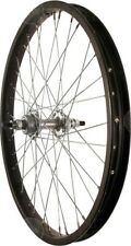 Sta Tru Rear Wheel~ 20 inch Black Single Speed BMX Hub Steel Rim with Solid