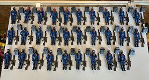 2004 TRU GI Joe Cobra Infantry Trooper & Squad Leader Lot Of 29 Figures