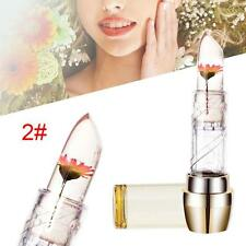 Jelly Flower Lipstick Color Changing Long Lasting Lip Gloss Moisturizing 2# FT
