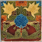 TILE ART NOUVEAU RELIEF MOLDED DESIGN MANUFACTURED BY MINTONS LATE 1800'S
