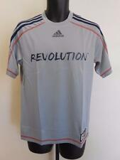 NEW MLS New England Revolution Adult Mens Sizes S-M-2XL Adidas Climalite Jersey