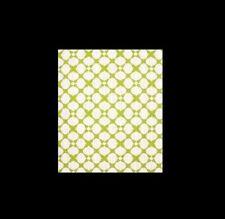4 panels Santa Rosa lime/white cotton blend curtains NIP