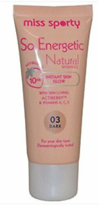 Miss sporty so energetic natural foundation Various shades