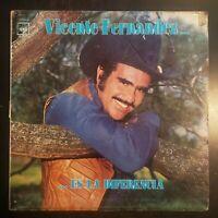 """Vicente Fernandez """"...Es La Diferencia"""" Vinyl Record LP"""