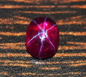 4.50 Cts Natural Star Ruby Gemstone Star Ruby Cabochon Ring Size Star Ruby Loose Star Ruby Cabs Jewelry Gemstone Star Ruby Stone