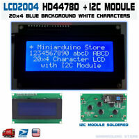 LCD 2004 Blue Serial IIC I2C TWI 20x4 Character Module Display Screen Arduino