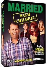 MARRIED WITH CHILDREN COMPLETE SERIES SEASON 1,2,3,4,5,6,7,8,9,10,11 R1 DVD 1-11