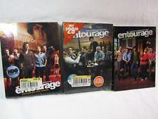 Entourage Season 1, 2 & 3-(Part One) DVD's 1 & 2 still in Shrinkwrap! !