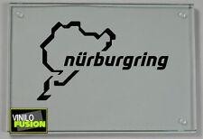 2 Pegatinas vinilo Nurburgring no 332