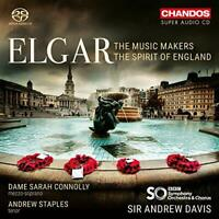 Sarah Connolly - Elgar: The Music Makers [Sarah Connolly; Andrew [CD]