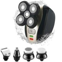 Mens Electric Shaver Rechargeable 3D Head Wet Dry Razor Trimmer Clipper