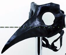PRE ORDER 2 weeks Plague Doctor black MASK big party cosplay comic con steampunk