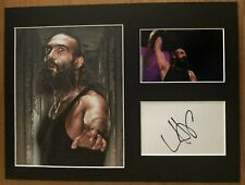 More details for luke harper / brodie lee    **hand signed**   16x12 mounted display  ~ aew / wwe