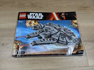 LEGO - Star Wars - Millennium Falcon EP 7 - 75105 - INSTRUCTIONS BOOKLETS ONLY
