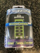 Buzztime Home Trivia System Wireless Controller in Green - Sealed