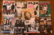 Alt Press Magazine Lot Of 9 2015 2016 2017 Pop Punk