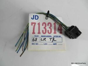 1993-1999 BMW 3 Series Coupe/Conv Left Rear Tail Light Wire 63218353273 E36