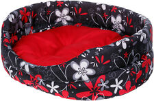 Dog Bed with Cushion Washable and Fur Removable Pet Basket best choice for pet L
