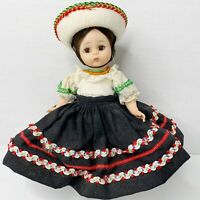 Madame Alexander MEXICAN Doll 776 Bent Knee Tag Hat Vintage