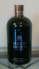 MOLTON BROWN Russian Leather Bath & Shower Gel 300ml - NEW & GENUINE - MEN