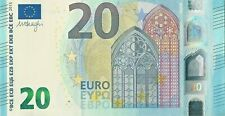 20 Euro Banknote Lightly Circulated Legal Tender New Prefix R For Germany