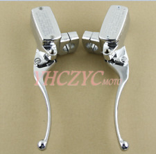 Brake Clutch Master Cylinder Lever for Honda VTX1800 2002-2008 chrome