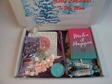 Personalised LADIES Christmas MINI PAMPER HAMPER GIFT BOX MUM SISTER AUNTIE